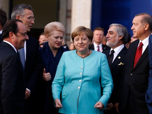 Nato-Gipfel 2016 in Warschau