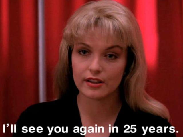 So hiess es in der letzten Folge der zweiten Staffel. Und nun sind es 25 - äh nein, aufgrund der Verzögerung - 26 Jahre später.