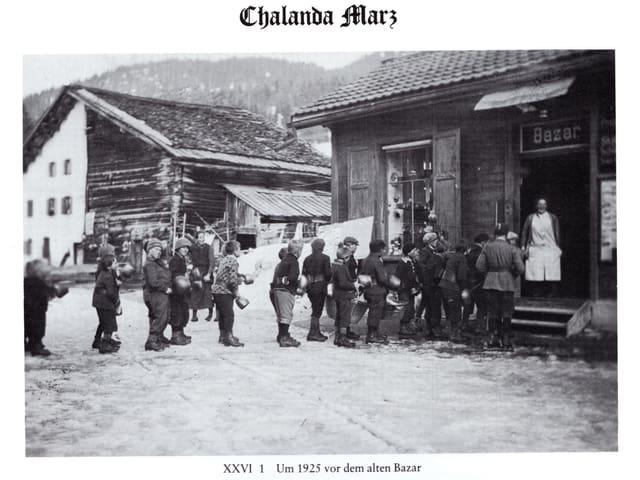 Chalandamarz a Lai l'onn 1925.