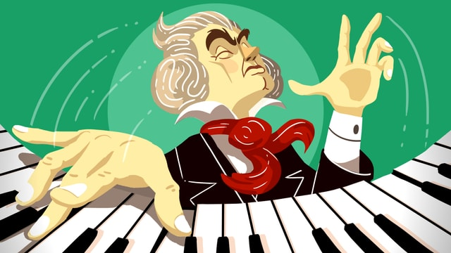 Beethoven mit Humor: 9 Chat-Episoden und eine Hörspiel-Soap