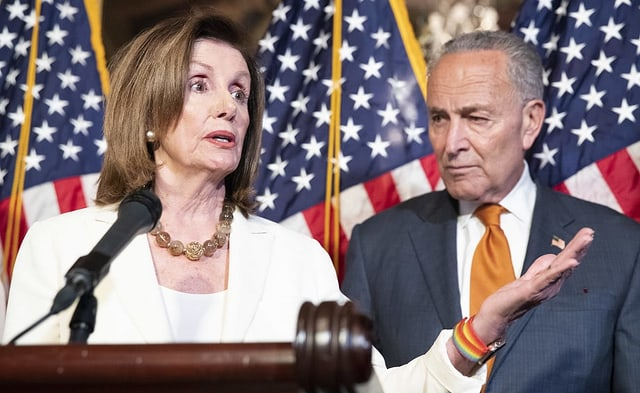 Nancy Pelosi und Chuck Schumer
