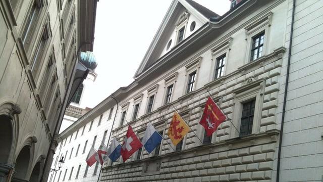 Das Luzerner Regierungsgebäude