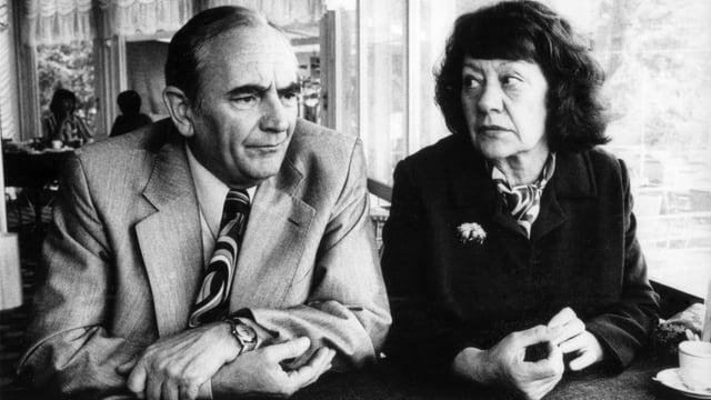 Ruedi Walter und Margrit Rainer