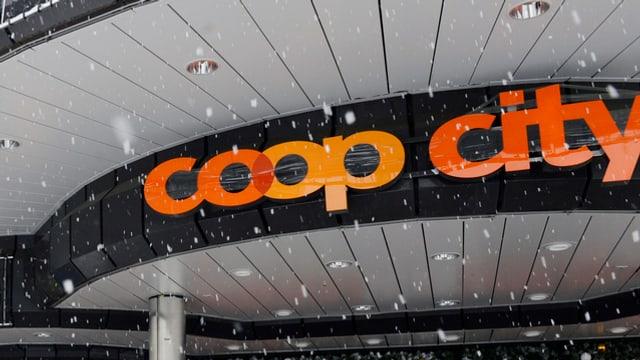 Logo Coop ad Oerlikon.