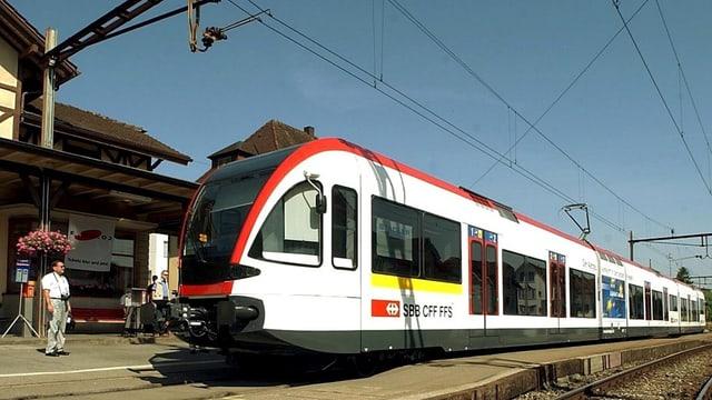 Bild von der Seetalbahn.
