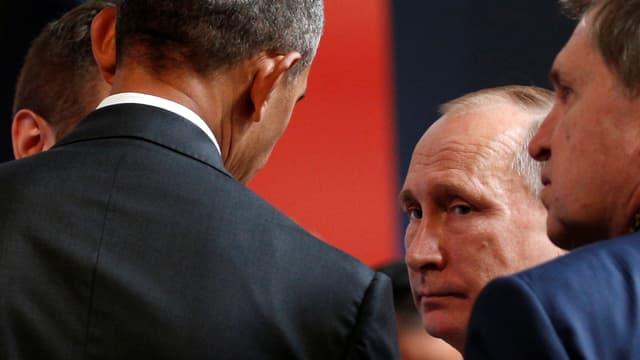 Obama spricht mit Putin