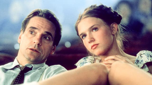Humbert und Lolita in der Roman-Verfilmung von 1997.