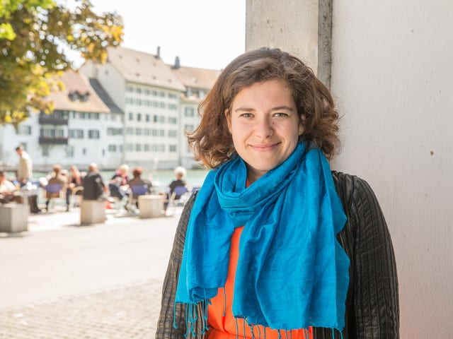 Nora Gomringer in Solothurn.