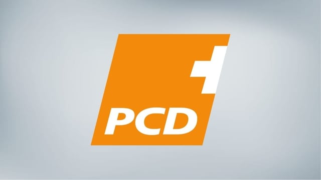 Logo da la PCD dal Grischun.