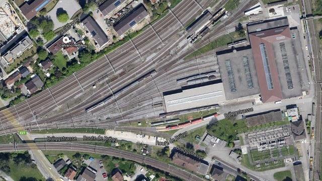 Der bestehende SBB-Servicestandort Biel soll ausgebaut und erweitert werden.