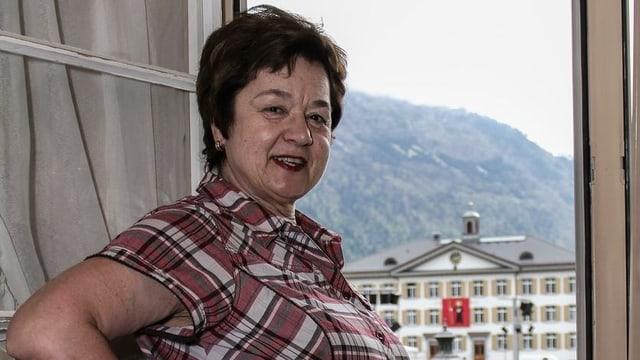 Wirtin mit Leib und Seele: Ruth Bader.