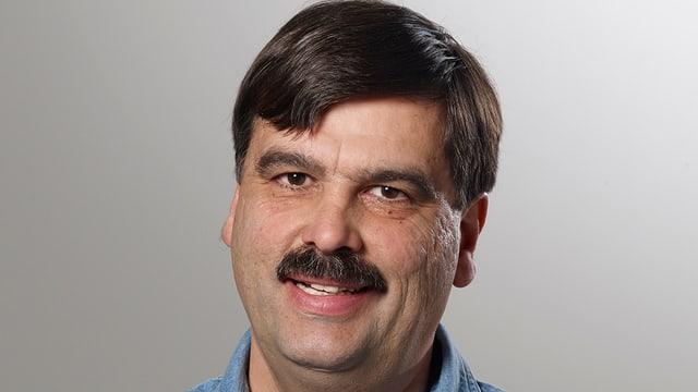 Der Allschwiler Gemeinderats-Kandidat Franz Vogt