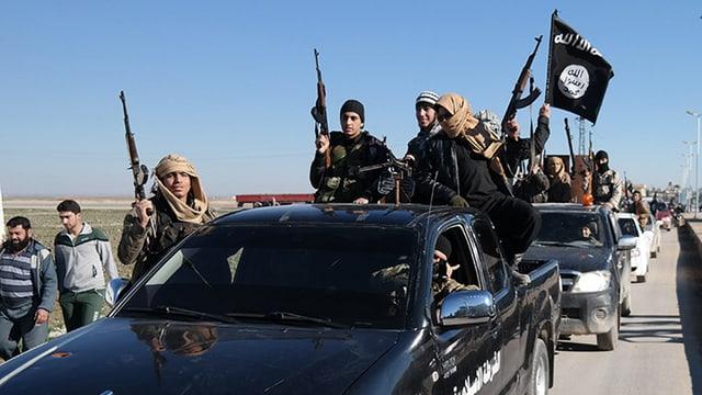 convoi dal Stadi islamic en Siria