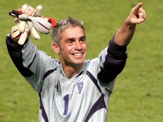 Goalie Antonis Nikopolidis