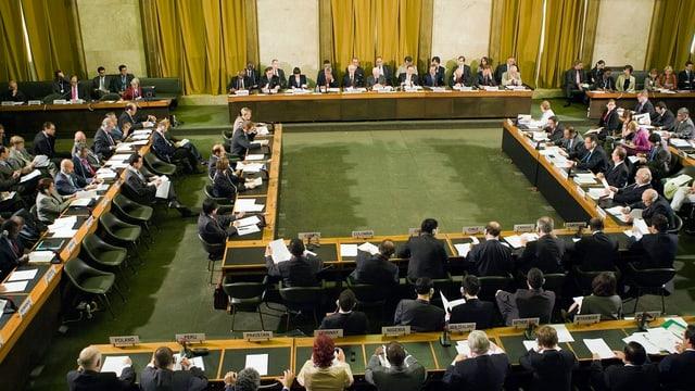 Alle Jahre treffen sich die Delegierten zur Uno-Abrüstungskonferenz. Doch seit mehreren Jahren ist sie blockiert.