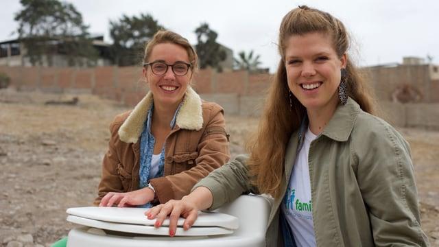 Firmengründerin Jessica Altenburger (r.)und CEO Isabel Medem