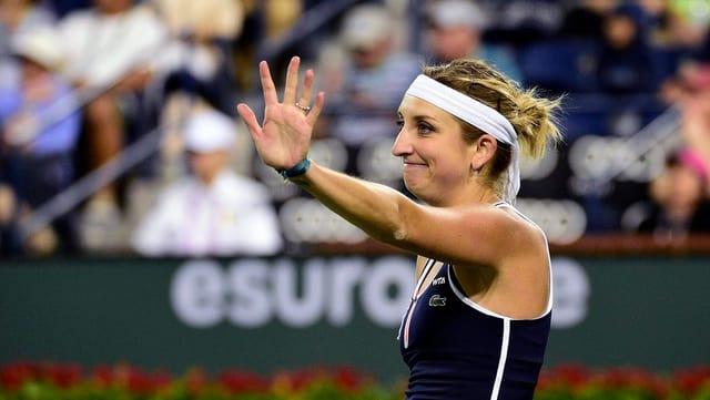 La giugadra da tennis Timea Bacsinszky.