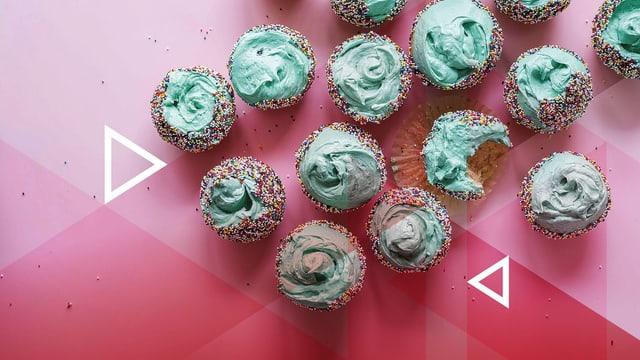 cupcakes - turtinas