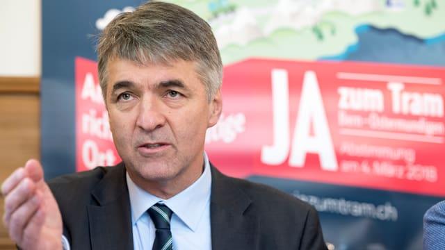 Alec von Graffenried, Stadtpräsident von Bern.