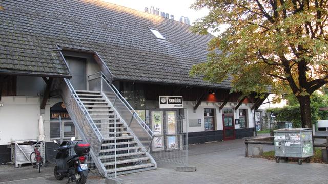 Das Luzerner Konzerthaus Schüür von aussen.
