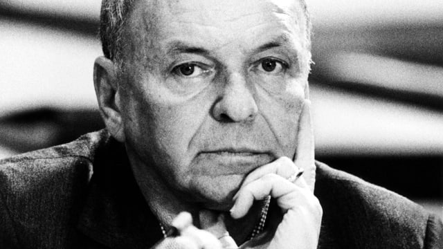 Porträt Frank Sinatra.