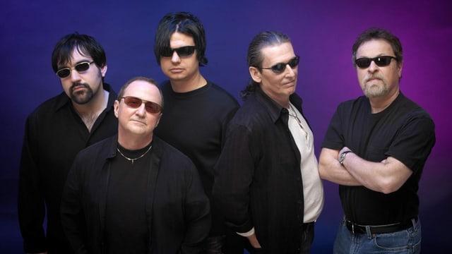 Blue Öyster Cult feiern ihr 40 jähriges Bandjubiläum.
