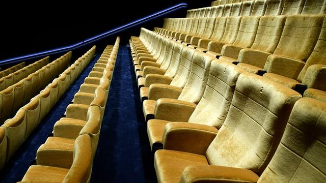 Am französischsprachigen Filmfest in Bern hoffen die Veranstalter auf volle Säle. Im Bild leerer Saal.