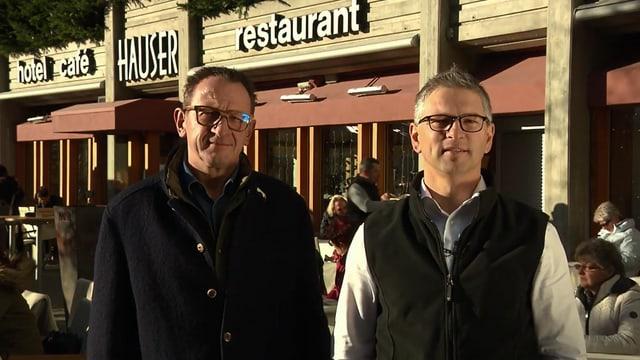 Video «St. Moritz – Tag 2 – Hotel Restaurant Hauser, St. Moritz» abspielen