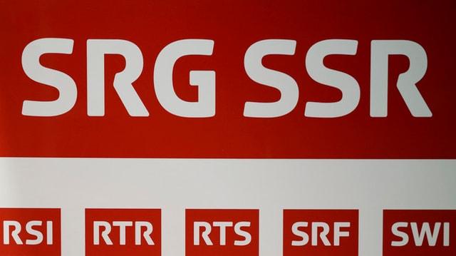 Ina stanza cun blers moniturs tar la SRG SSR.