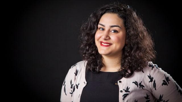 Tina Mehrafzoon ist Programmleiterin vom Musikguiden i P3, dem Schwedischen Radio P3.