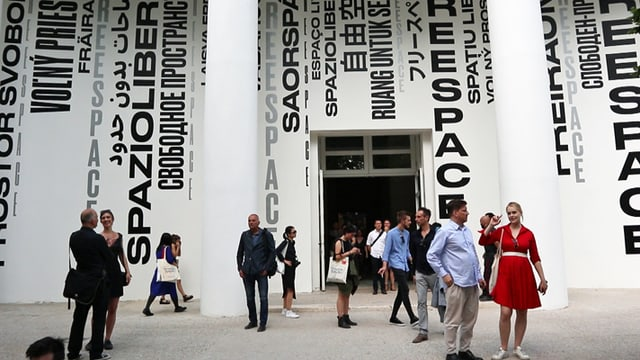 Video ««Kulturplatz» an der Architekturbiennale in Venedig» abspielen