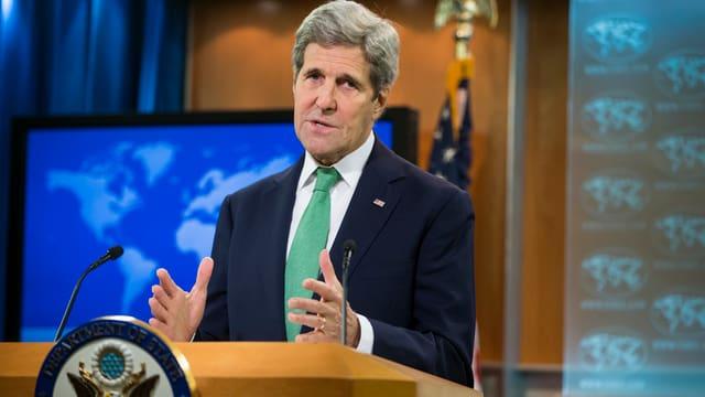 Discurra dad in genocidi en l'Irac e la Siria: John Kerry.