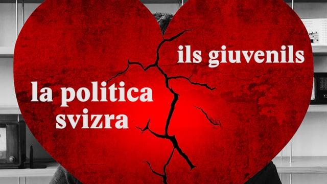 Laschar ir video «La politica svizra ed ils giuvenils - ina disamur»