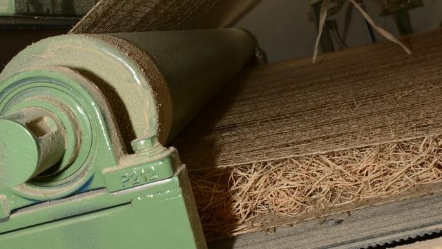 Holzwolle Matte Maschine
