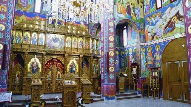 Video «Serbisch-orthodoxer Gottesdienst aus Belp» abspielen