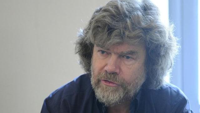 Extrembergsteiger Reinhold Messner.