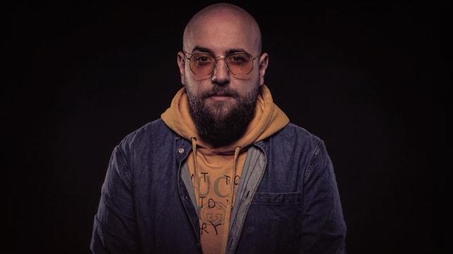 Porträt des Rappers Aslan