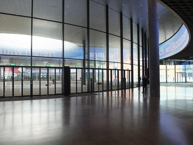 Eingangsbereich Messe-Zentrum