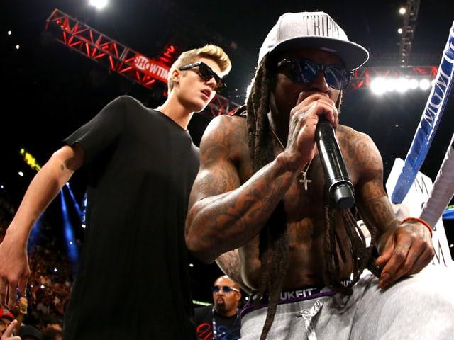 Justin Bieber und Lil Wayne