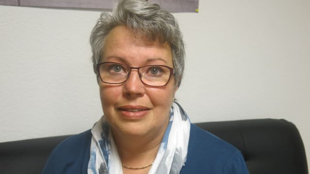 Antje Burri-Escher, Gemeindepräsidentin von Tentlingen.