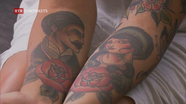 um e dunna tatuà sin bratsch.
