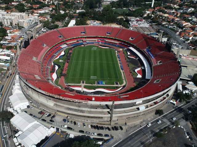 Hier wird die Copa America eröffnet.