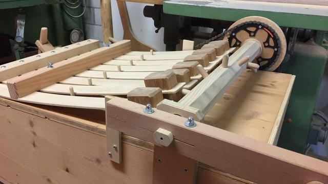 Holz-Lärm-Instrument