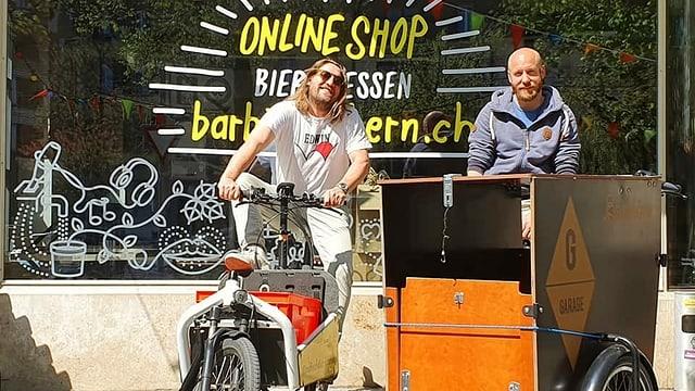 Auf die Schnelle einen Online-Shop mit Lieferdienst aus dem Boden gestampft.