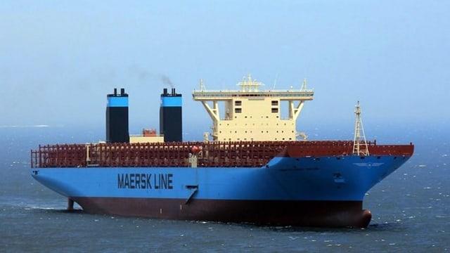 Containerschiff leer