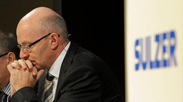 Klaus Stahlmann, anteriur schef dal concern Sulzer.