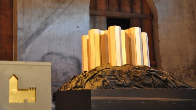 Il model dal bajetg projectà sin il pass dal Güglia tut traglischa a sia preschentaziun dal festival cultural Origen