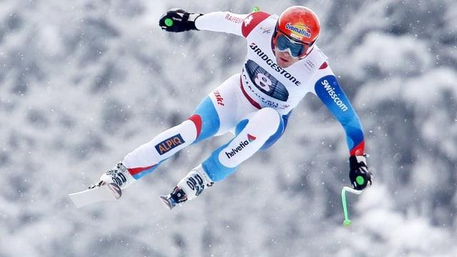 Patrick Küng kämpft in Kvitfjell um die Qualifikation für den Weltcupfinal.