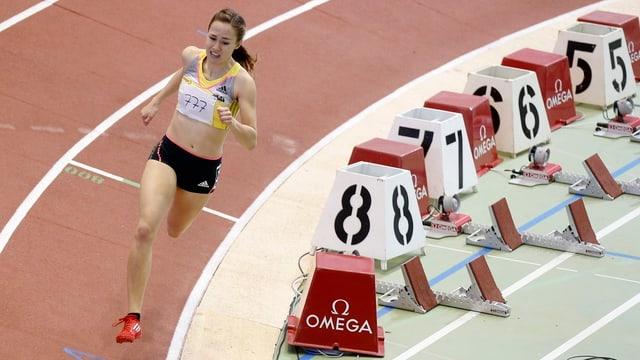 800-Meter-Läuferin Selina Büchel