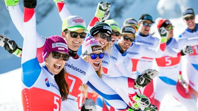 Squadra da skis svizra.